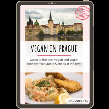 Vegan in Prague Ebook - cover